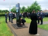 National Chairman, laying the Assoc wreath at the RAF Regt Memorial at the NMA