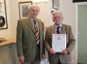 Paul Brunning and Alf Newton