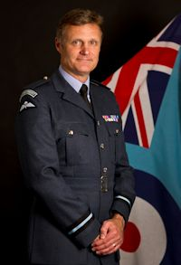 AIR COMMODORE ANDREW HALL MBE MA RAF