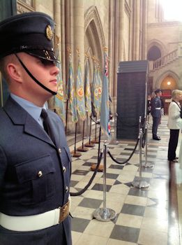 RAF Day Commemoration Royal Courts